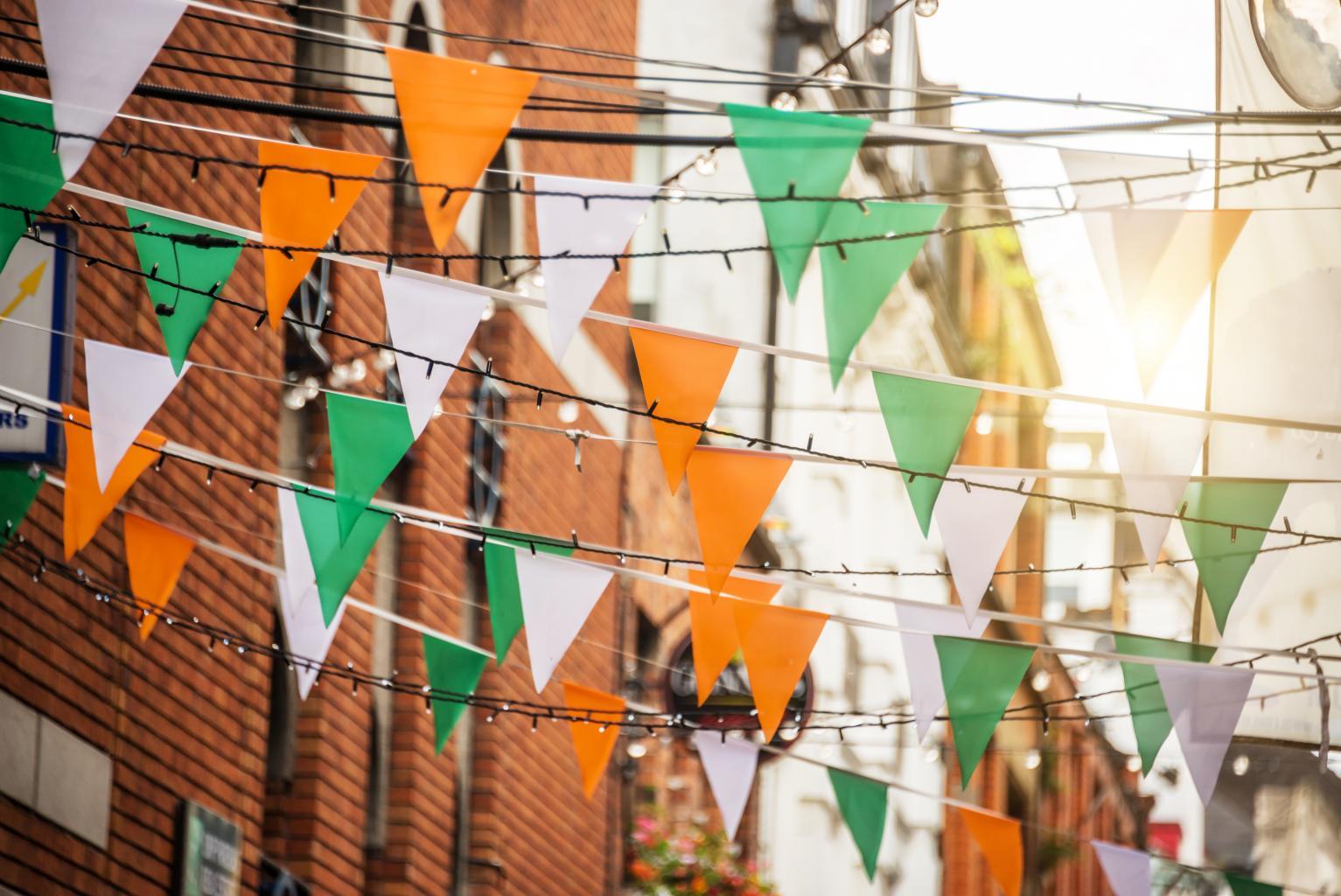 Recuni City Pictures Irish_Flags