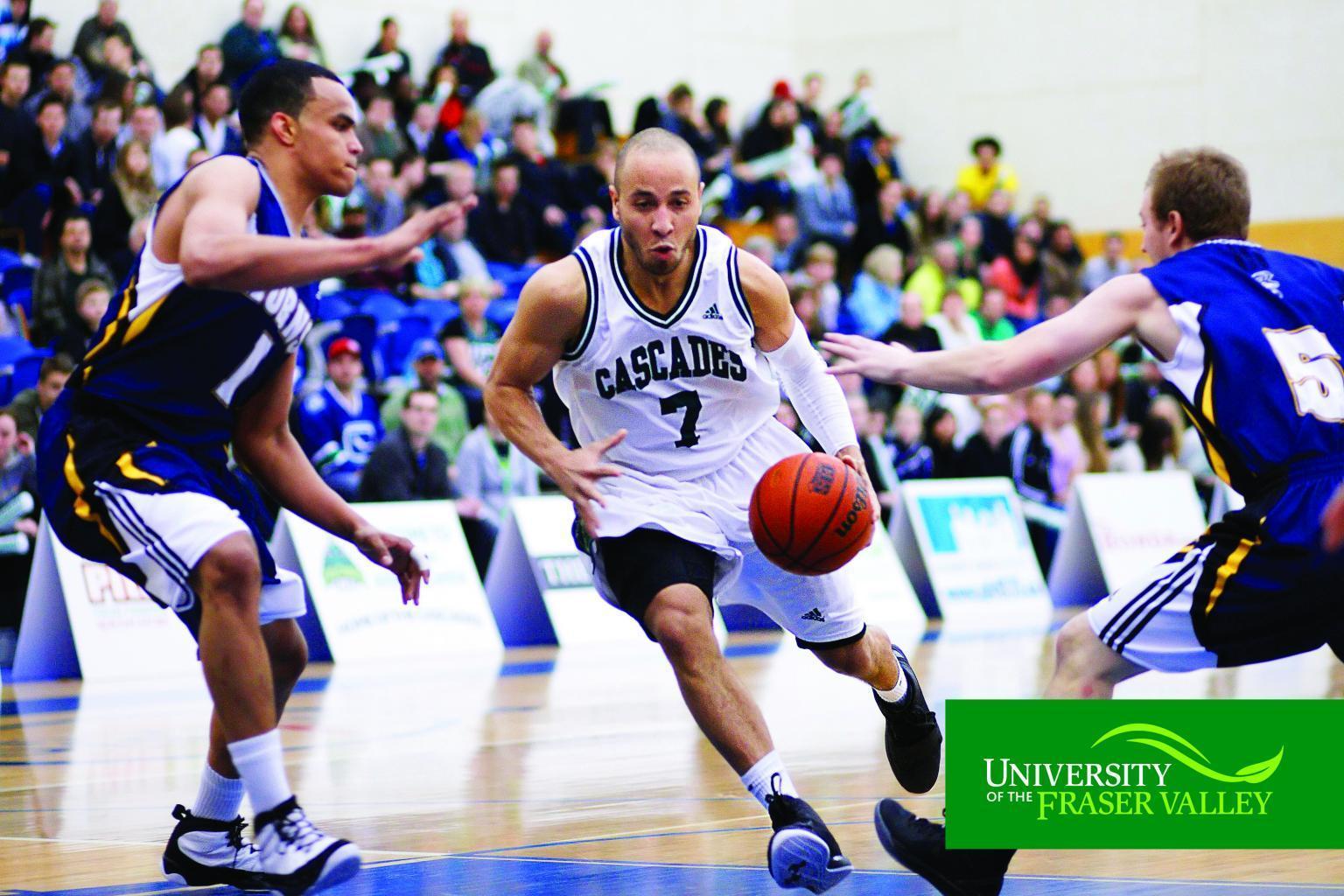Recuni Uni Pictures UFV-athleteics-cascades-mens-basketball